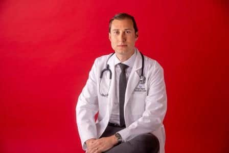 Ari Berger, M.D., of Holy Name Medical Center's Palliative Medicine Team